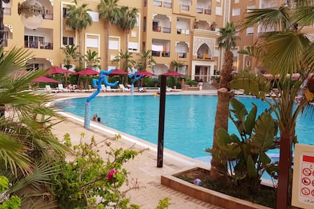 Folla, Aqua resort chott mariem