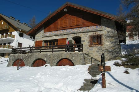 Sunny Chalet Valberg French Alps - Guillaumes
