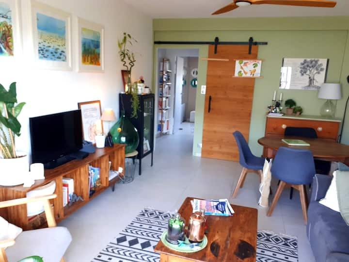 Antibes, appartement tout équipé et lumineux