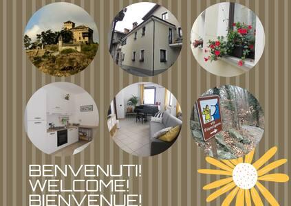 Apartment in Montestrutto village