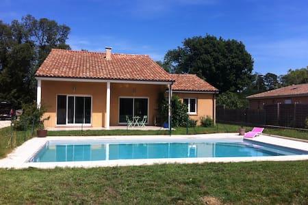 Maison calme, lumineuse et piscine - Plaisance-du-Touch - Haus