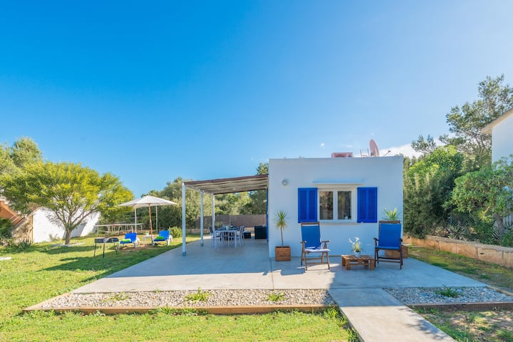 SESTANYOL - Chalet for couples in Colonia de Sant Pere - s'Estanyol. Free WiFi