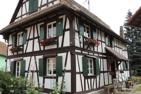 La Maison Alsacienne, gîte au coeur de l'Alsace - Ohnenheim - Rumah