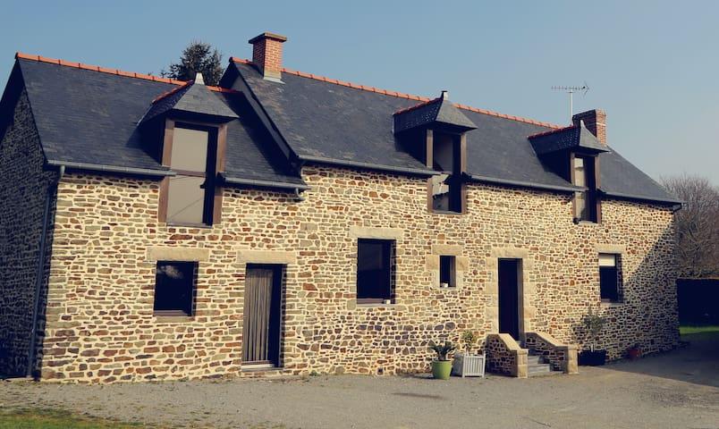 Longère à la campagne proche Rennes - Nouvoitou - Huis