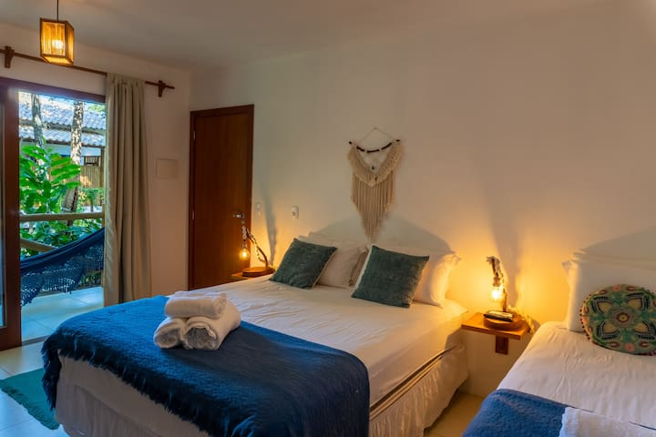 Suite AMAZONITA no Aloha Guest House - Algodões