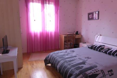 Chambre sur jardin - Rennes - Casa