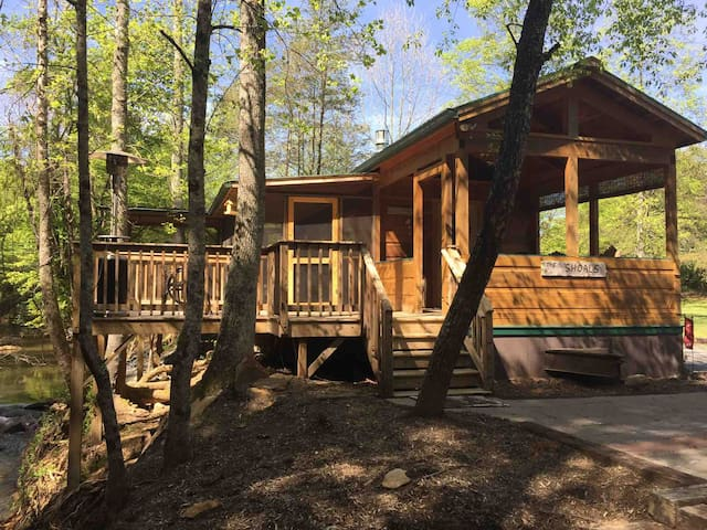 "Creekside Cabins ""The Shoals"""