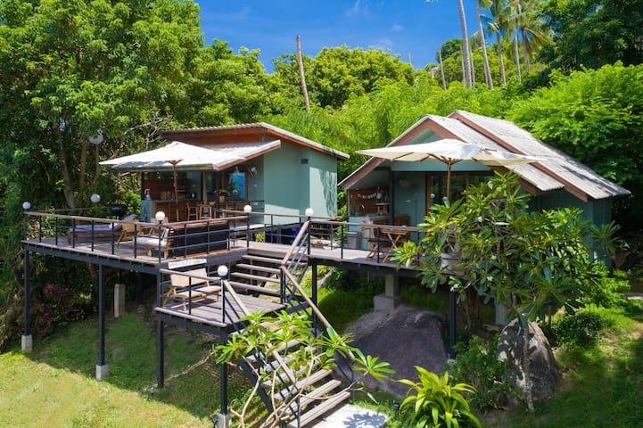 Cosy Jungle Bungalows Seaview, Lrg Private Terrace