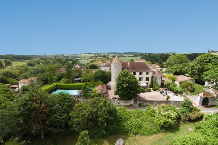 Chateau de Sadillac, holiday home in the Dordogne