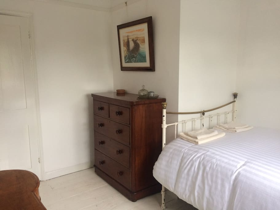 Double bedroom with small double bed