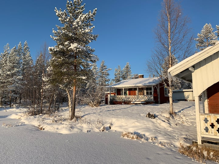 Close to wilderness and calmness in Lapland