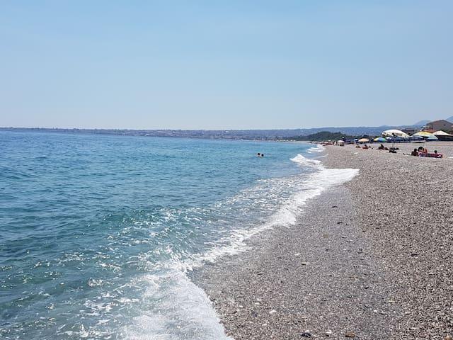 Spiaggia vedendo Riposto