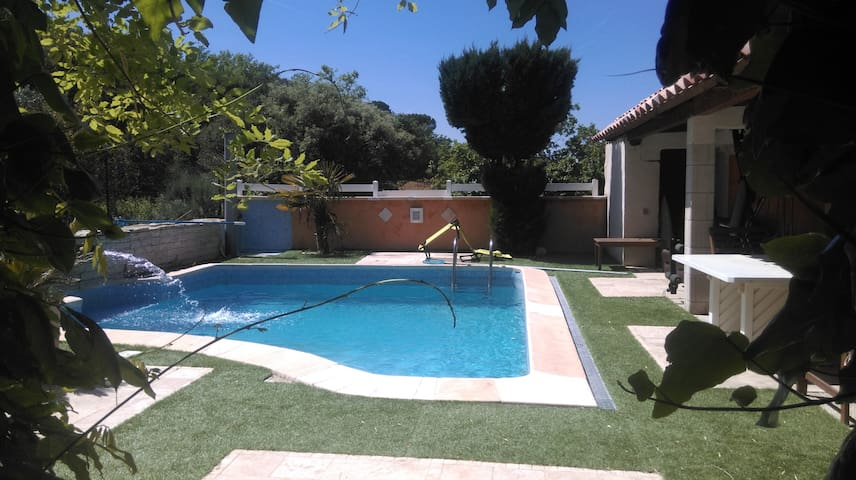 Villa à étage avec piscine - Le Thoronet - Talo