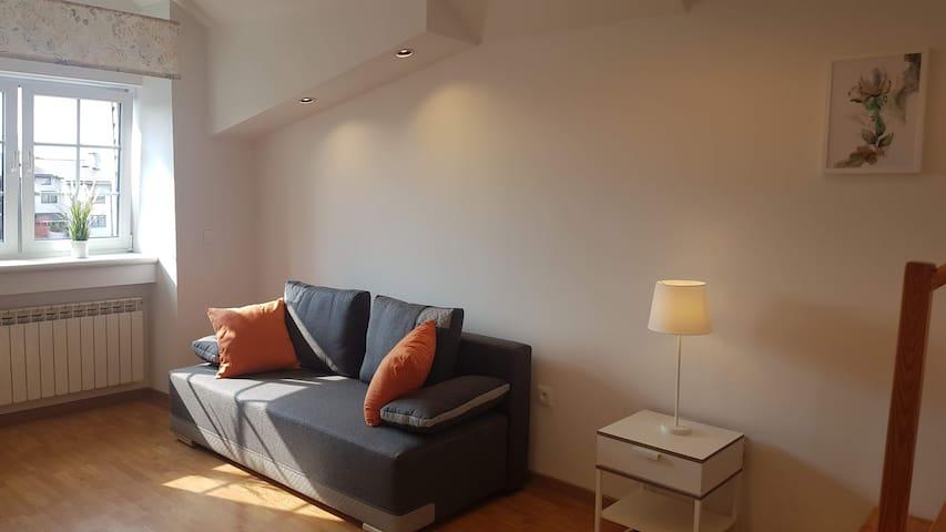 Orange apartament blisko Centrum Warszawy.