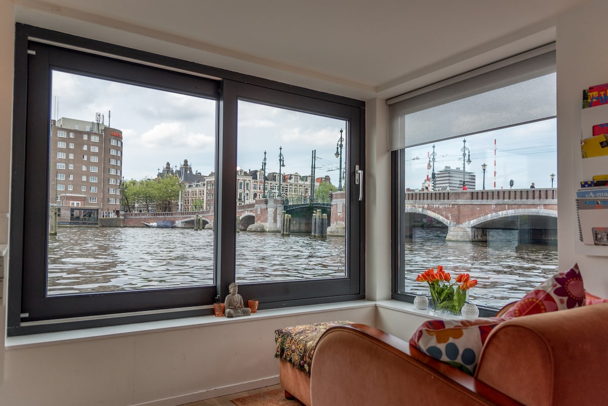 Studio @Houseboat-BEST VIEW@amstel - Boats for Rent in ...