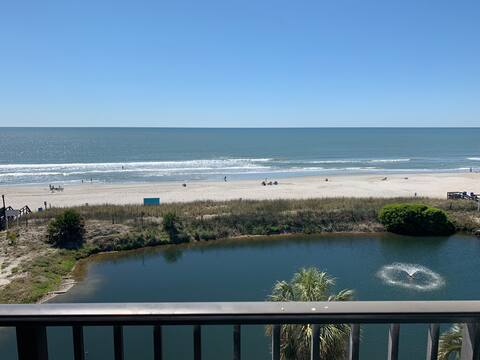 Direct OCEANFRONT Fully Remodeled End Unit