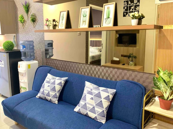 Captivating 1 BR Apt in the Heart of Bandung