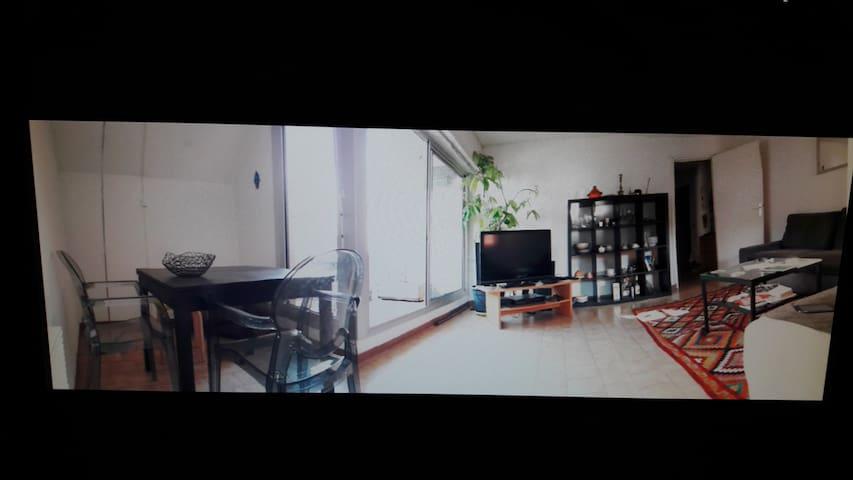 Beau P 2 55 m2 + terrasse Sciences,  Cnrs, Chu - Montpellier - Apartament