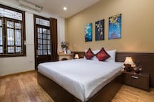 King size bed room on the  2nd floor
