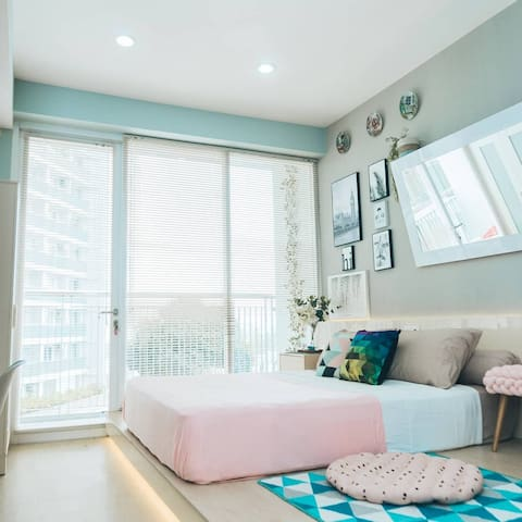 HomyMommy Airbnb,Family friendly & Bright Studio