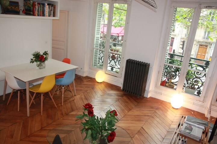 Beautiful 3-bedroom apartment Luxembourg Garden