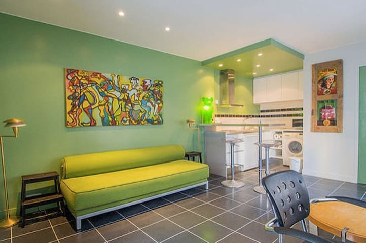 cozy studio in lovely area - Charenton-le-Pont - Appartement
