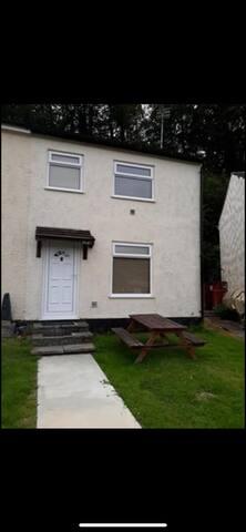 Welsh Cottage Glan Gwna site