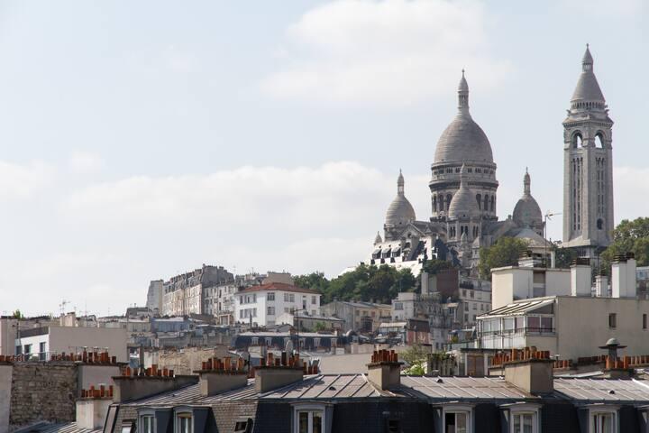2 pièces à Montmartre - Paris - Apartemen