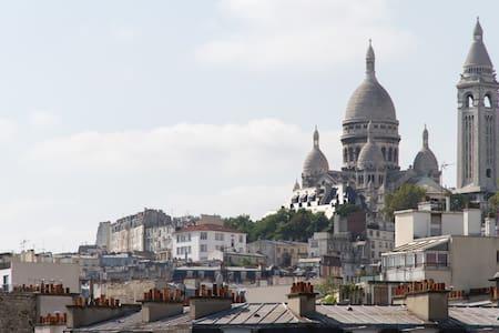 2 pièces à Montmartre - Pariisi