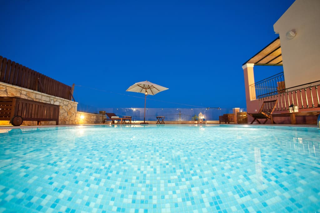 Villa Artemis Barbati Corfu  Pool