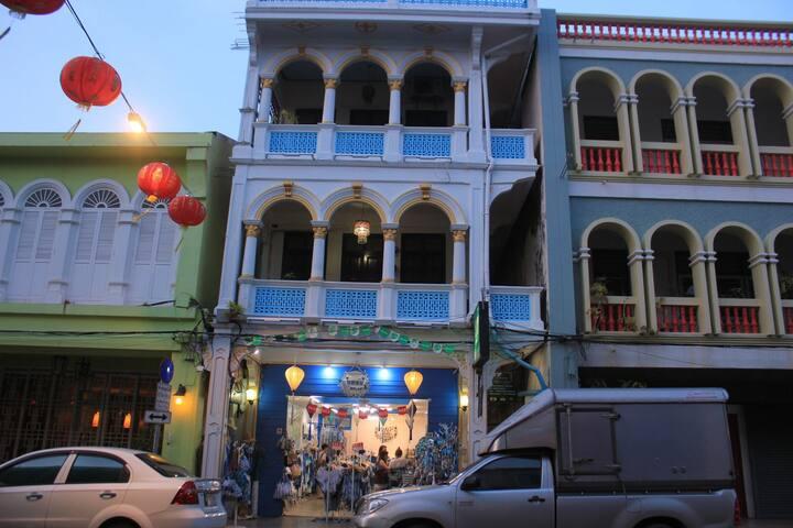 cozy fan room in old Phuket town