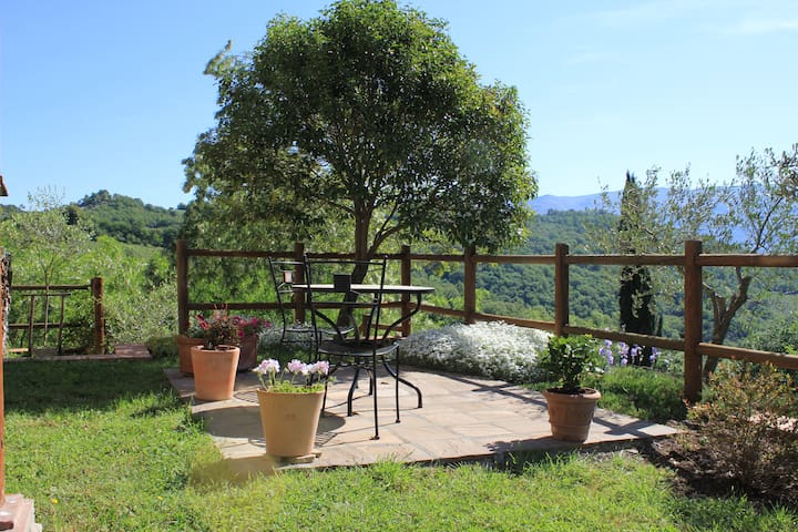 Holiday apartment in Tuscany's beautiful Casentino