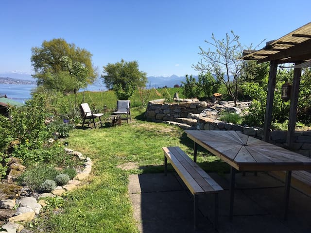 Apartment with great lakeview near Zurich - Au ZH - Apartment