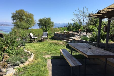 Apartment with great lakeview near Zurich - Au ZH - 公寓