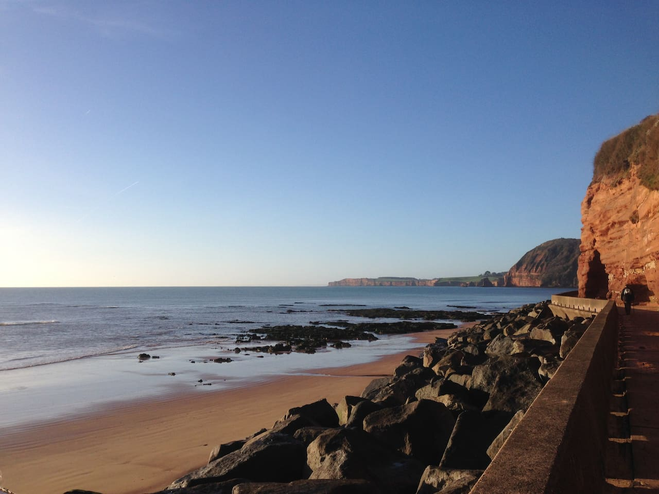 Little Anchor is just a couple of minutes walk away from all of this - Sidmouth Esplanade and Beach