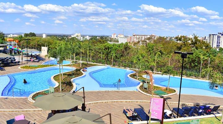 Alta Vista: Resort Luxo no centro de Caldas Novas!