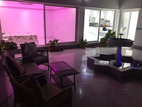 Luxe appartement vc grand terrasse ( villa )