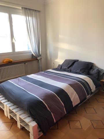 Chambre à louer dans un grand appartement