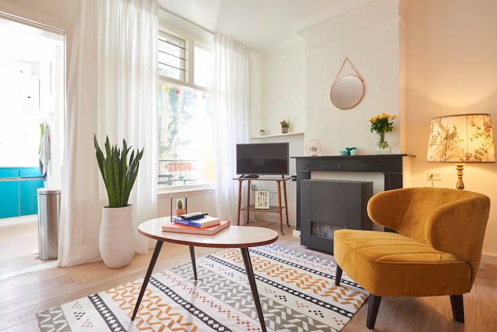 Trendy and perfectly located apartment with balcon - Amsterdam - Apartment