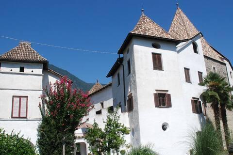 Urlaub im Schloss, neu: mit Pool