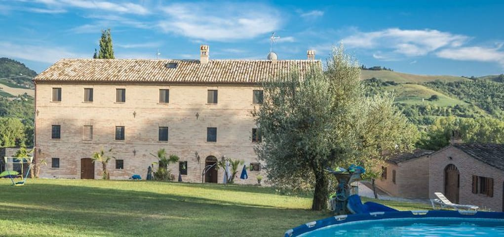 B&B-kamer in le Marche
