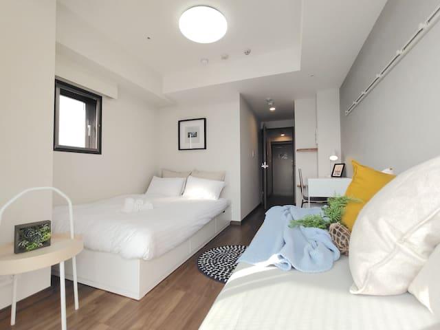 JROtsuka 5min#Minimalist House#FreeWifi&Max3(9F-1)