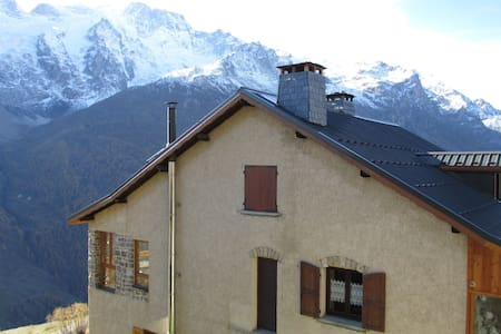 Simple, cozy App.4 people in La Grave, ideal for nature lovers and hikers!