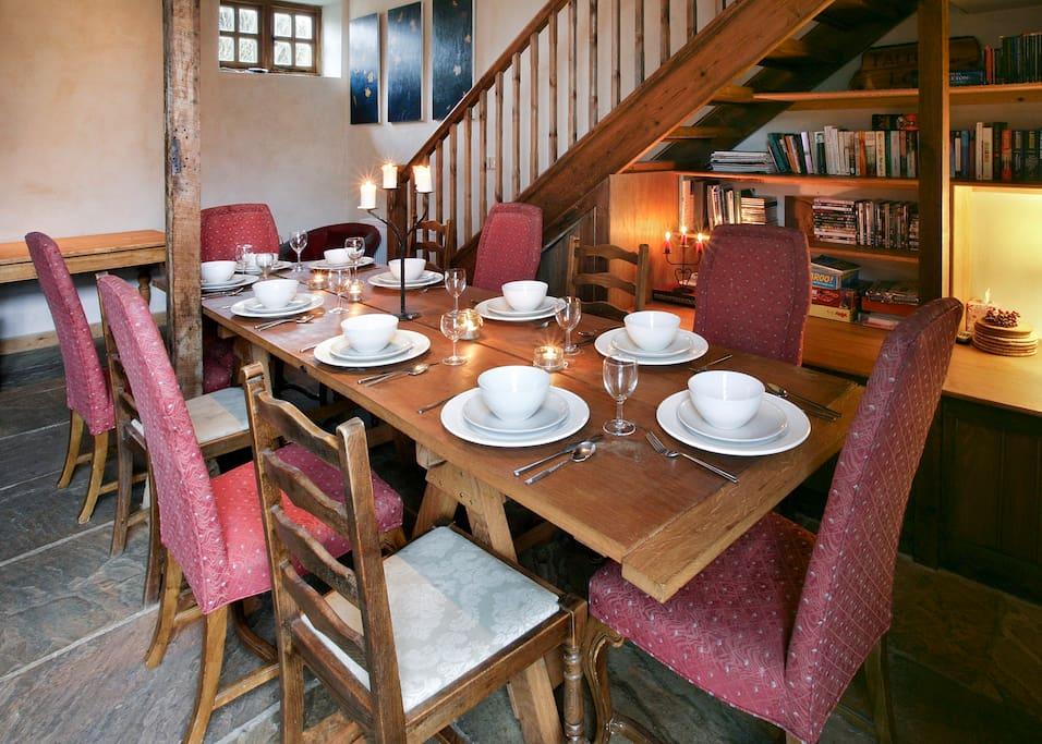 Talton Lodge Barn, downstairs