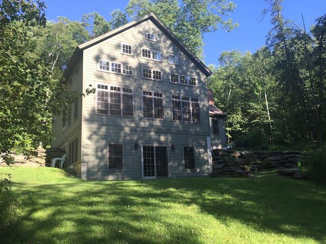 'Green Glass' - Four Season Berkshires Retreat - Copake - Huis