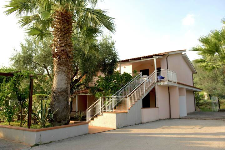 Holiday Home in Palinuro with Pool, Terrace, Garden,Bicycles