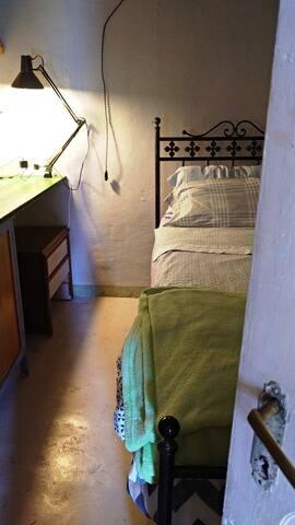 Habitación A Proyecto Aguinaliu Ecoaldea- Pirineos
