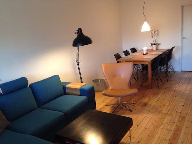 Dejlig 4 vær lejlighed tæt ved sø - Værløse