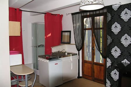 joli studio avec terrasse et vue sur la montagne - Noyers-sur-Jabron
