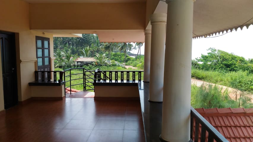 Beach front home stay